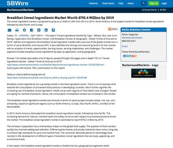 Press Release SBWire Example