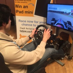 F1 Racing Simulator at Brighton SEO