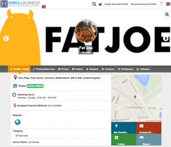FATJOE Local citation directory example #5