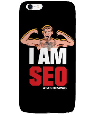 I Am SEO FATJOE iPhone Case