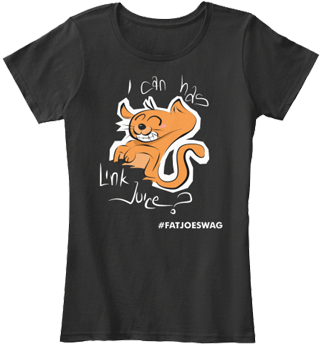 I Can Has Link Juice FATJOE SEO Womens Tee