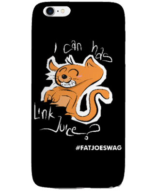 I Can Has Link Juice FATJOE iPhone Case