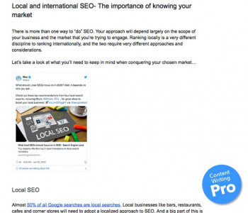 Example of the FATJOE Content Writing Service: informative blog post from the 'Digital Marketing/SEO' niche