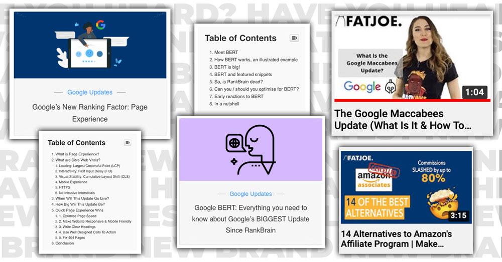 Breaking News Videos & Blog Posts on the FATJOE website, Social & Youtube channels