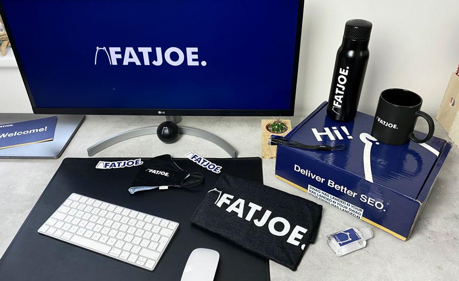 A photograph of the latest FATJOE swag box
