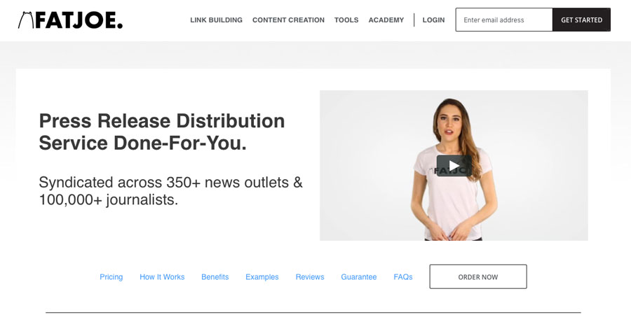 FATJOEs press release distribution service which can help you get more SEO clients