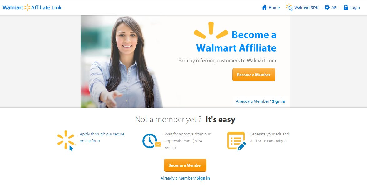 Wallmart Affiliate Program