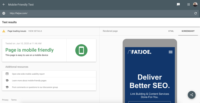 FATJOE.com Mobile Responsive Test