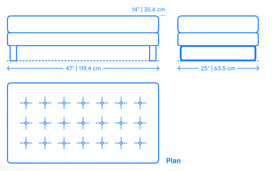 An example of how to include dimensions and specification information in a product description